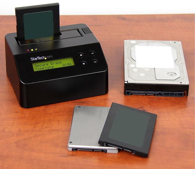 format ổ cứng với thiết bị chuyên dụng