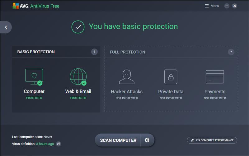 Phần mềm diệt Virus miễn phí của AVG